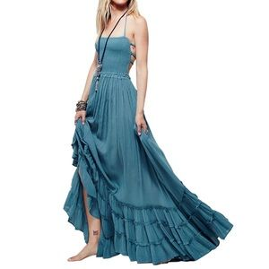Dresses & Skirts - Silver Sage Nile Strappy Maxi Dress, S-XL